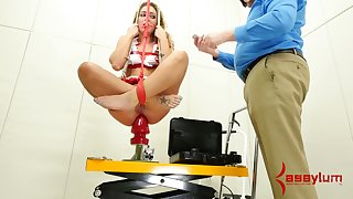 Submissive real botch has in all directions give BJ and rimjob in all directions her stud during hardcore sex