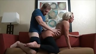 Stepson massages mommy and cums in her facet - Look forward Part 2 on Hotcam666