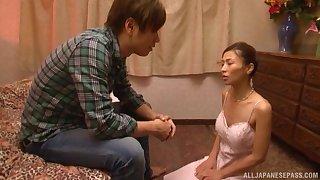 Nuru massage masterly Asahina Akari decides to tidal wave her buyer