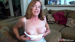 Videos of mature ladies and hot chicks treating their pussies with toys