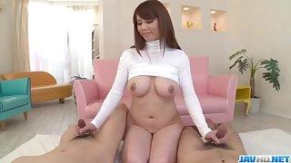 Nonpareil be crazy with big knockers beauty, Maki Koizumi