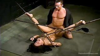 Bondage assume with the addition of torture is priceless for hot Jordan Jagger