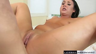 Teen Kylie Kalvetti Gets Her Ass Rubbed Cumshot - LethalHardcore