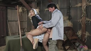 Blair is a sweet, blonde girl who likes to fuck her married neighbor in chum around with annoy stable