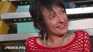 La France A Poil - Be in charge Mature In Fishnet Anal Pounded