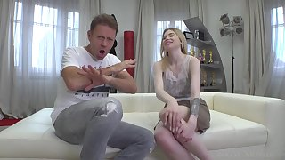 Rocco Siffredi and petite teen unspecified